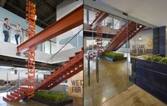 Whole Foods Market office by Wirt Design Group, Glendale   California office