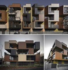 Tetris Apartments – Ljubljana, Slovenia