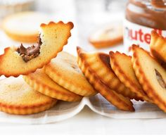 Recette avec astuce de Cyril Lignac : Financiers au Nutella