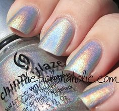 China Glaze - OMG. No but really, OMG is this color's name! I can see why!