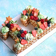 Очередная циферка 2️⃣9️⃣ Каждый торт неповторимый и только для Вас❤️ ————————————————-#тортмосква #торт #тортик #тортыназаказ… Pastry Design, Biscuit Cake, Number Cakes, Cake & Co, Bread And Pastries, Mini Cupcakes, 2nd Birthday, Tart, Biscuits