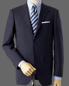 【アメリカントラディショナル・アップデートモデル】 1964年モデルを現代的なイメージにアレンジしました。往年のディティールはそのままに、身頃、衿、袖などをスリム化したモデルです。上衿と下衿の境(ゴージライン)も高めに設計されており、現在主流の細身スーツスタイルにマッチしたシルエットです。|オーダーメイド|スーツ|ジャケット|