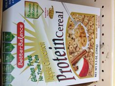 "High protein, gluten free cereal for post operation. Use after week 4 post operation or when on ""soft, ground, moist"" diet"