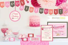 Princess Birthday Party...Printable Party Pack... includes an official Princess for a Day Certificate!!!