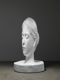 White Forest (Laura) by Jaume Plensa