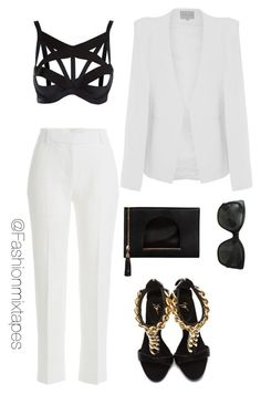 """""""Untitled #23"""" by divamanda ❤ liked on Polyvore featuring Agent Provocateur, 3.1 Phillip Lim, Topshop, Giuseppe Zanotti, Nila Anthony and Chanel"""