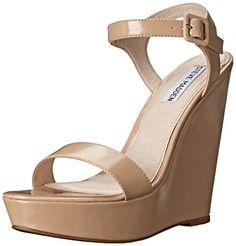 Steve Madden Women's Prestine Wedge Sandal