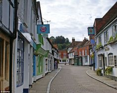 The good life: The historic town of Godalming in Waverley, which was named as the rural area with the best quality of life