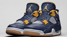 e5cbab8f53ce46 Air Jordan 4 Dunk From Above Color Midnight Navy Varsity Maize-White-