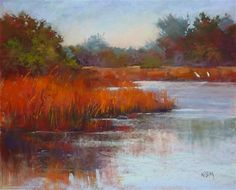 """Daily Paintworks - """"Another Pastel Demo....Another Question Answered"""" - Original Fine Art for Sale - © Karen Margulis"""