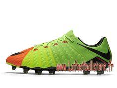 save off d9d97 5a859 Nike Hypervenom Phantom 3 FG Chaussure de football à crampons pour terrain  sec pour Homme Volt