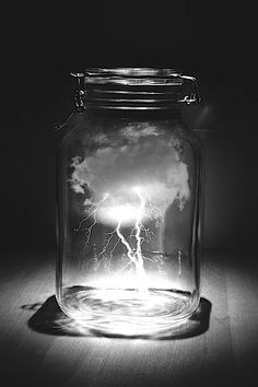 Thinking inside the jar, this is a well created piece. In terms of the piece working well, it's hard to tell it was Photoshoped Obviously this was however it looks real. I like the black and white aspect, I would try color too to see how that flows with the design. I think this is a great design, not a bad one.
