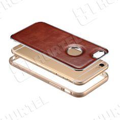 Etui i pokrowce   Skórzane etui z bumperem Vintage Series do iPhone 6 czarne   EKLIK - Sklep GSM, Akcesoria na tablet i telefon