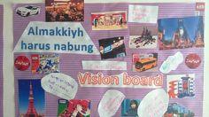 Vision board my son