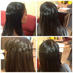 Waterfall braid! Pinned this mostly because of the name :)
