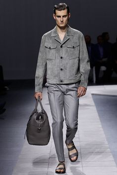 Brioni Spring 2016 Menswear Fashion Show One of many inspirations for us. See more here: https://ambitious-shoes.com/ #fashion #clothes #shoes #style #menswear #outfit #streetfashion #mensfashion #streetstyle #Footwear #ambitious #design #leathershoes #ambitiousmood #ambitions #ambitiousshoes #colourfullshoes