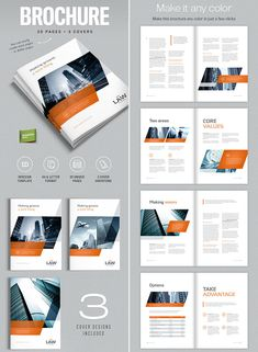 Best InDesign Brochure Templates For Creative Business - Marketing brochure templates