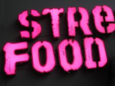street food sign - Google Search
