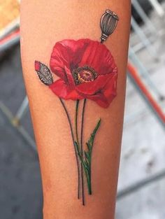 Image result for poppy tattoos