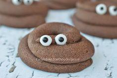 drollen koekjes met oogjes