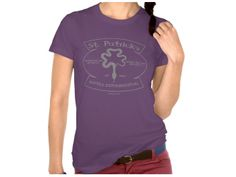Saint Patrick's Reptile Exterminations, Style is Women's American Apparel Fine Jersey Short Sleeve T-Shirt, color is Eggplant Irish Design, Jersey Shorts, American Apparel, Army, T Shirts For Women, Eggplant, Oc, Mens Tops, United States