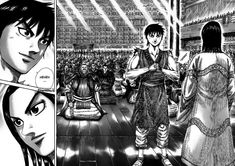 Read Kingdom Chapter 355 : Exceptional Service - Millions of years have passed since the times of legends, when the worlds of man and gods were still the same. Next Chapter, Anime Comics, Image Shows, Manga Anime, This Is Us, King, Ideas, Stuff Stuff, Fine Girls