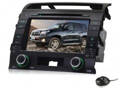 Pumpkin Car radio Android 4.4 2-Din Universal Car DVD GPS Navigation with 8 inch LCD HD Capacitive Touch Screen DVR/ 3G / WIFI/ODB2/ For Toyota Land Cruiser 200(2008-2012)