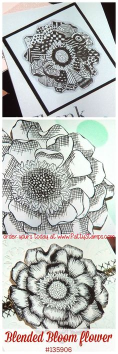 Convention-stampin-up-blended-bloom-flower-zentangle