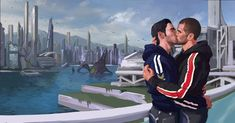 Mass Effect Ships, Mass Effect 1, Mass Effect Universe, Mass Effect Kaidan, Mass Effect Romance, 3d Solar System, Sara Ryder, Kaidan Alenko, Lgbt Love