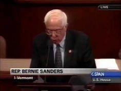 Flashback: Rep. Bernie Sanders Opposes Iraq War - Senator Bernie Sanders of Vermont