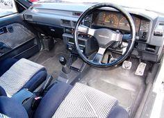 Toyota Corolla FX-GT 3DR HATCH 1.6 5SP MAN 1986 Dashboard