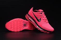 check out eeaef 3b17a Nike Air Max 2017 Women Peach Shoes