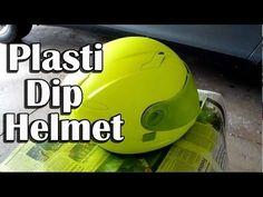 Plasti Dip Helmet - CHEAP HI-VIZ Motorcycle Helmet Option