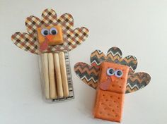 CraftyGoat's Notes: Thanksgiving School Snacks