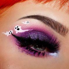 Creative Eye Makeup, Eye Makeup Art, Unique Makeup, Clown Makeup, Costume Makeup, Colorful Makeup, Cool Makeup Looks, Crazy Makeup, Cute Makeup