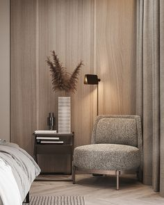 When it comes to texture in interior design, it refers to the surface quality of a piece. They are overlooked aspect of interior design. Mid Century Living Room, Contemporary Apartment, Modern Apartment Design, Suites, Luxury Home Decor, Luxury Interior, Home Decor Bedroom, Master Bedroom, Modern Bedroom
