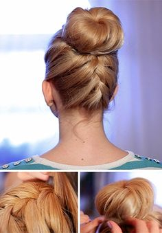 Nice and simple hair