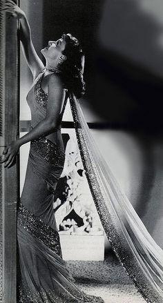 Paulette Goddard in The Women (1939)   In an Adrian Gown