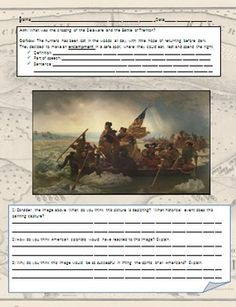 In this lesson students will learn about George Washington's surprise attack on the Hessians by crossing the Delaware River and the subsequent Battle of Trenton, which was a small but vital battle in the fight for independence, and was a turning point of the American Revolution.