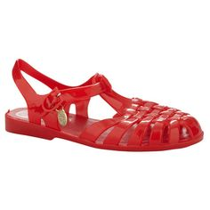 Hannahs   Fishermann by Lipstik in red   $29.95