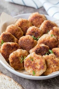 A simple Ukrainian Kotleti recipe made with ground pork and chicken and seasonings that are breaded and fried. Pork patties that are crispy on the outside and juicy on the inside, Ukrainian Recipes, Croatian Recipes, Russian Recipes, Ukrainian Food, Hungarian Recipes, Czech Recipes, Pork Recipes For Dinner, Beef Recipes, Cooking Recipes