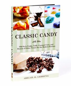 Another great find on #zulily! Classic Candy Cookbook #zulilyfinds