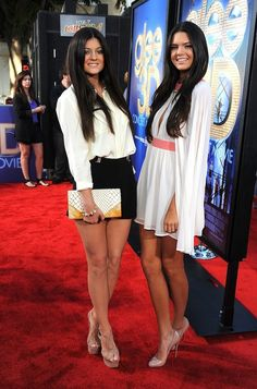 Kylie and Kendall Jenner.. :)