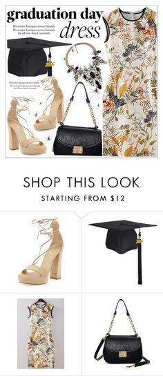 """""""Graduation Day Dress"""" by teoecar ❤ liked on Polyvore featuring Stuart Weitzman and graduationdaydress"""