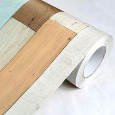 85.00$  Buy now - http://ali5dx.worldwells.pw/go.php?t=1325171277 - 0.5m*10m Vintage wood grain wall stickers  self adhesive vinyl wallpaper rolls decorative film 85.00$