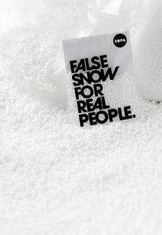 SOPA Graphics | False snow…