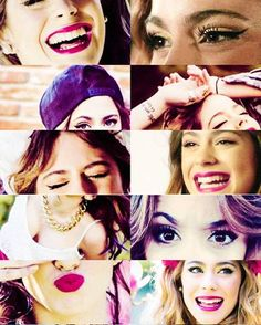 Martina stoessel grid collage <3<3
