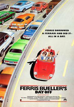 Ferris Bueller's Day Off (1986) [1280 x 1850]