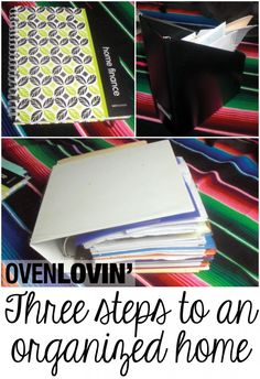 Organization: our household binder — or how we keep track of all the paperwork