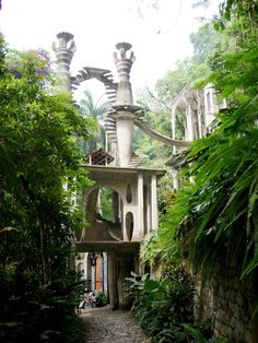 Las Pozas - created by Sir Edward James in Xilitla, Mexico